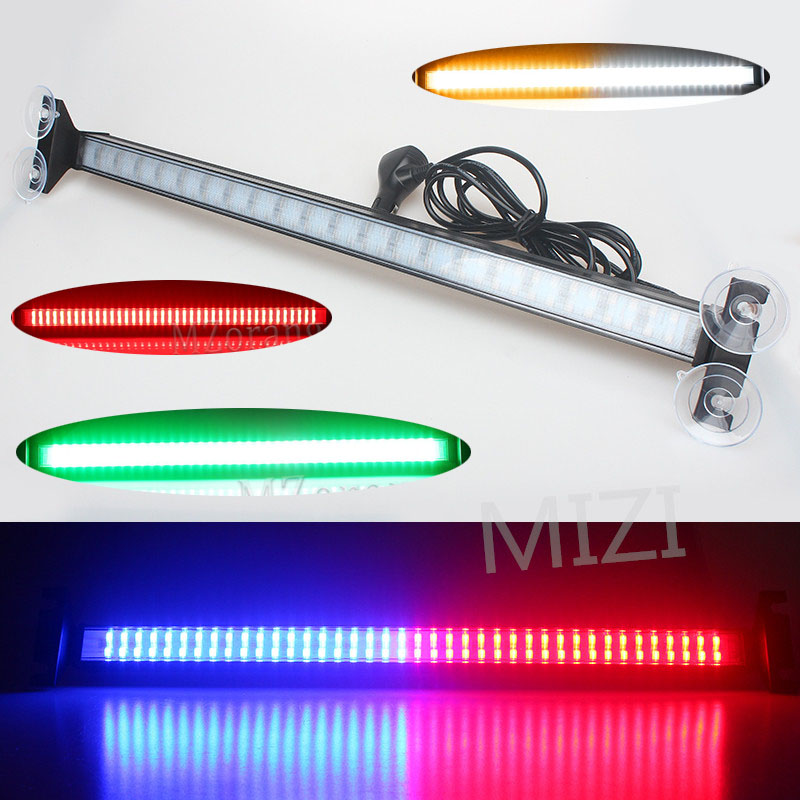 Led Strobe Light police warning lights flash signal emergency warning light Fireman Car Windshield Police Beacon