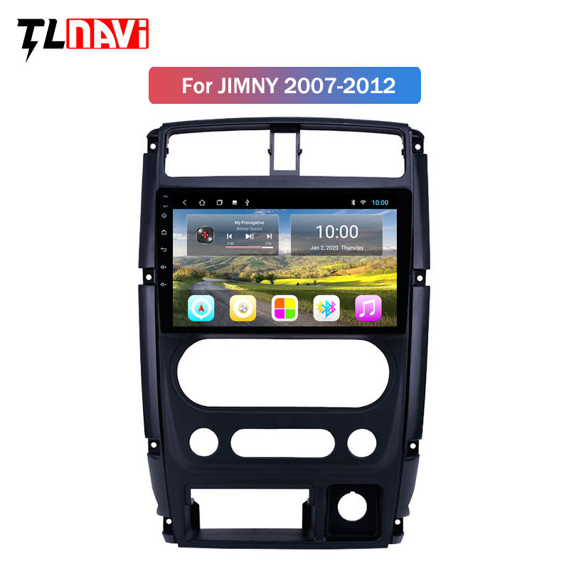 2G RAM Car Multimedia Player 2din 9 Inch Android 9 Car GPS Radio For 2007 2008 2009-2012 Suzuki Jimny