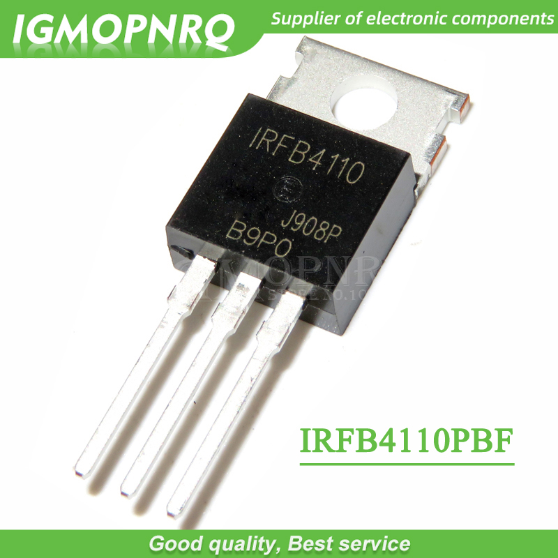 10pcs IRFB4110 FB4110 B4110 IRFB4110PBF TO-220 100V, 3.7mO, 180A, 370W FET New Original