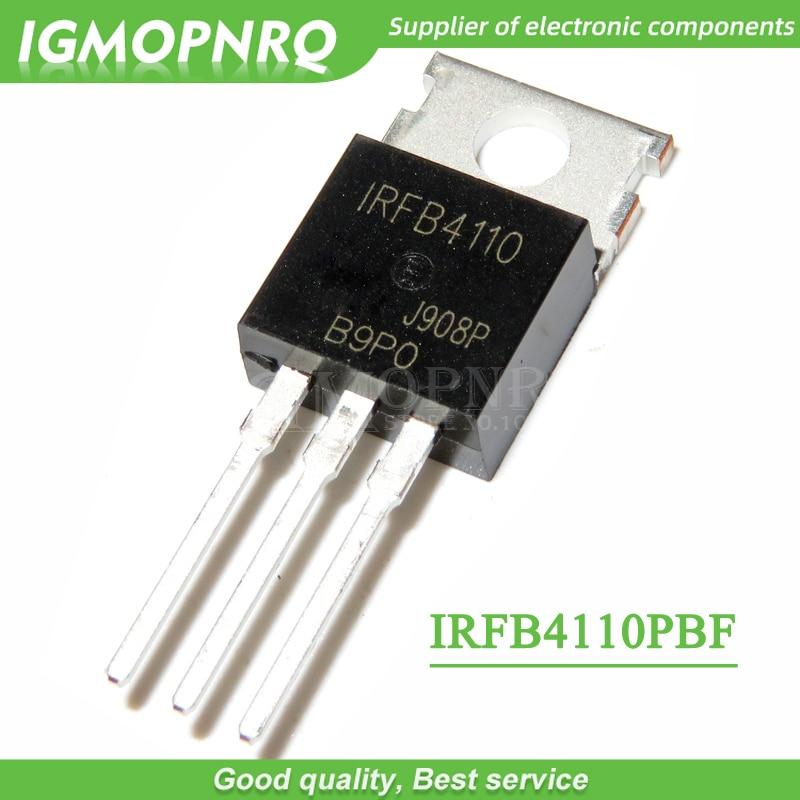 10pcs IRFB4110 FB4110 B4110 IRFB4110PBF TO-220 100V, 3.7mO, 180A, 370W FET New Original