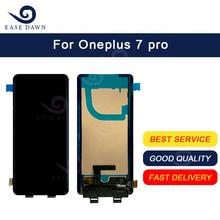 Para Oneplus 7 pro LCD AMOLED LCD pantalla táctil digitalizador montaje para Oneplus pantalla Original