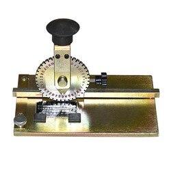 1PC J1K-508 ręcznie pokonać typ drukarka etykiet instrukcja metalowy znak maszyna do znakowania z cyfrowym literą okrągłe stalowe słowo koła