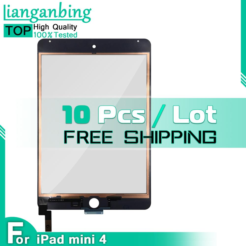 Wholesale 10 Pieces 10 Pcs Touch For iPad Mini 4 A1538 A1550 Touch Screen Digitizer Panel Assembly Replacement