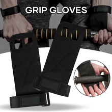 Lifting-Grip-Pads Pull-Up ALTERNATIVE Gym-Gloves Weight To The for And N66 Wholesale