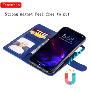 Image 2 - Luxury Flip Cover For iPhone 12 mini 11 Pro Max XS XR SE 2020 7 8 Plus Phone Case Leather Wallet Magnetic 2in1 Detachable Shell