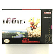 FF V  with box for snes game cartridge