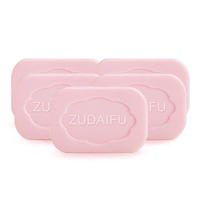 4pc Wholesale Zudaifu Original Sulfur Soap Skin Whitening Anti Acne Treatment Soap ZUDAIFU Psoriasis Eczema Soaps Body Cleanser 2