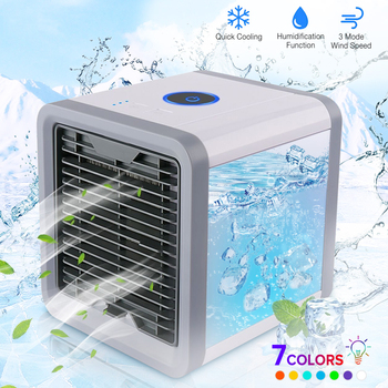 Portable Air Cooler Fan Mini Mobile Conditioner For Home Cooling Conditioning Personal Space USB Desk Fans