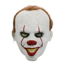 Horror Clown Mask Halloween Cosplay Costume Props Festival Scary Ghost Party Masks Accessory