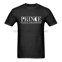 PRINCE Piano Microphone Black Concert Tour T-Shirt Size S-3XL Top Quality 2020 New Brand Men'S(China)