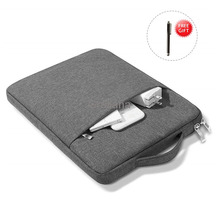 Handbag Sleeve Case For Ipad Pro 11 2020 2018 Zipper Waterproof Pouch Bag Case For Ipad 10.2 7th  Generation Tablet Funda Cover