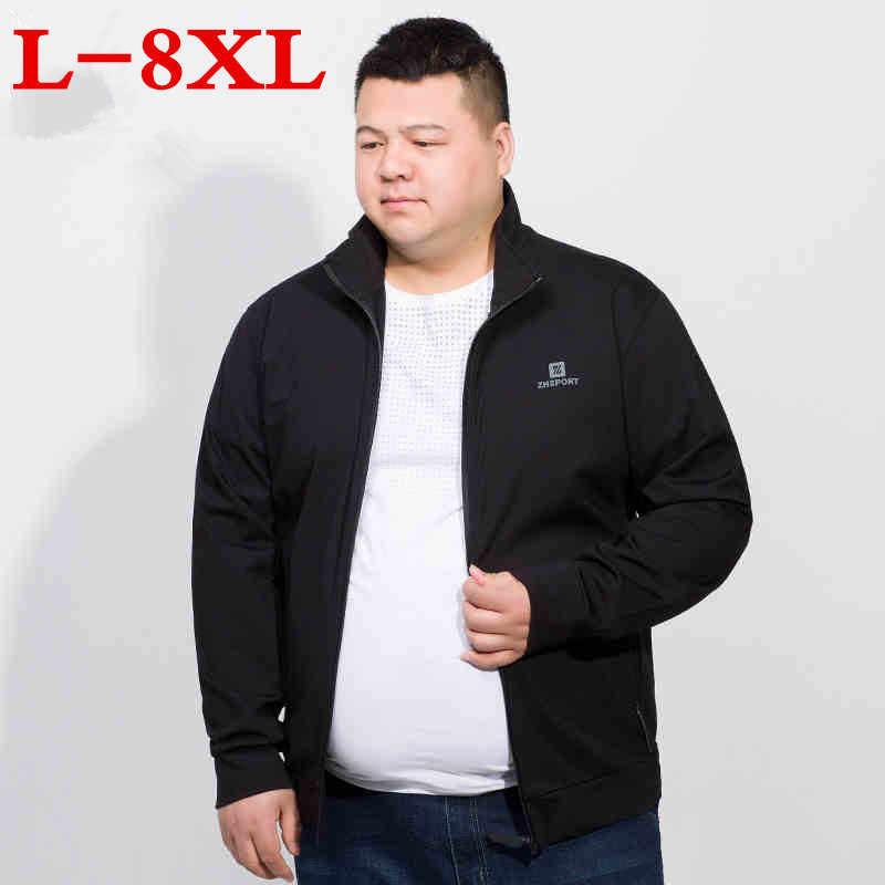 Mais tamanho 8xl 7xl 6xl nova jaqueta masculina moda casual solto jaqueta esportiva bomber jaqueta masculina jaquetas e casacos