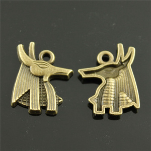 40 штук античная бронза египетская лошадь 21x16 мм Подвески оптовая продажа оптом Diy ювелирные принадлежности