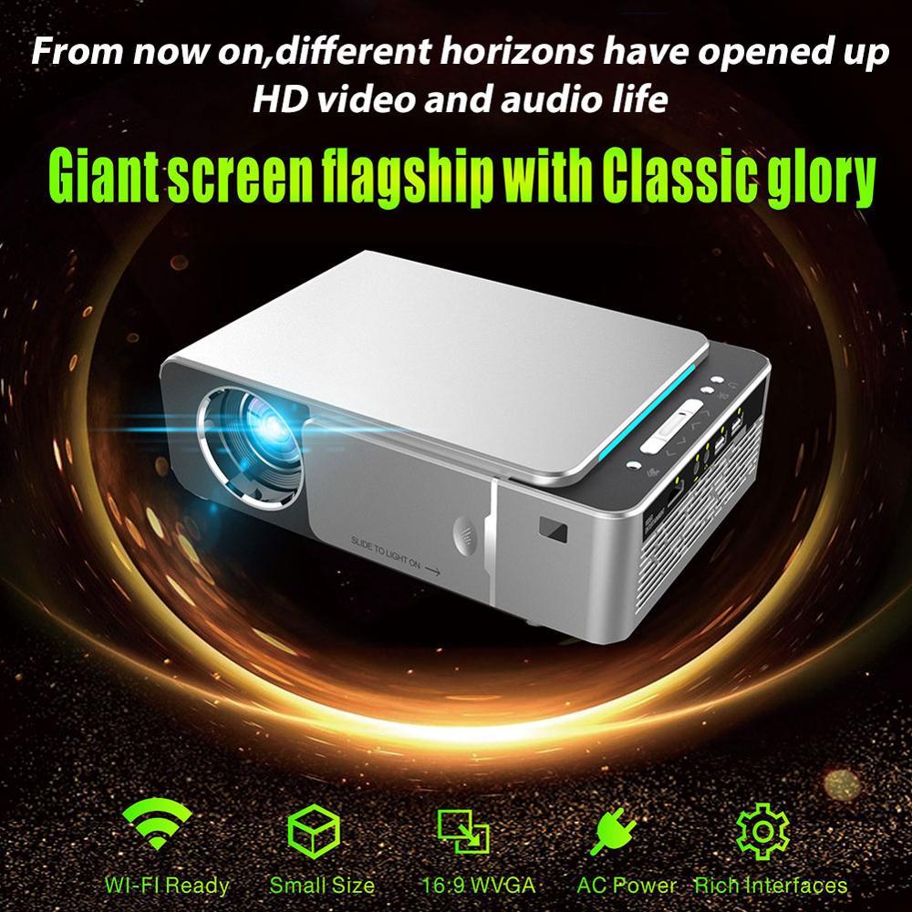 Оригинальный VIVIBRIGHT GP80 проекты светодиодный 1800 люмен HD мини портативный проектор для домашнего кинотеатра Поддержка 1080P USB HDMI - 5