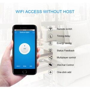 Image 3 - Itead Sonoff בסיסי Wifi מתג אלחוטי מרחוק DIY אוטומטי אור חכם בית אוטומציה ממסר מודול בקר עבודה עם Alexa