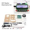 Радиоэлектронный Комплект «сделай сам», 5 в постоянного тока, запчасти TDA5807 51, одночиповый FM цифровой звуковой аппарат, чип STC89C52, 87 МГц-108 МГц