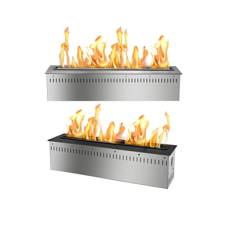 31 Inch Factory Direct WIFI Control Electric Bio Ethanol Fireplace