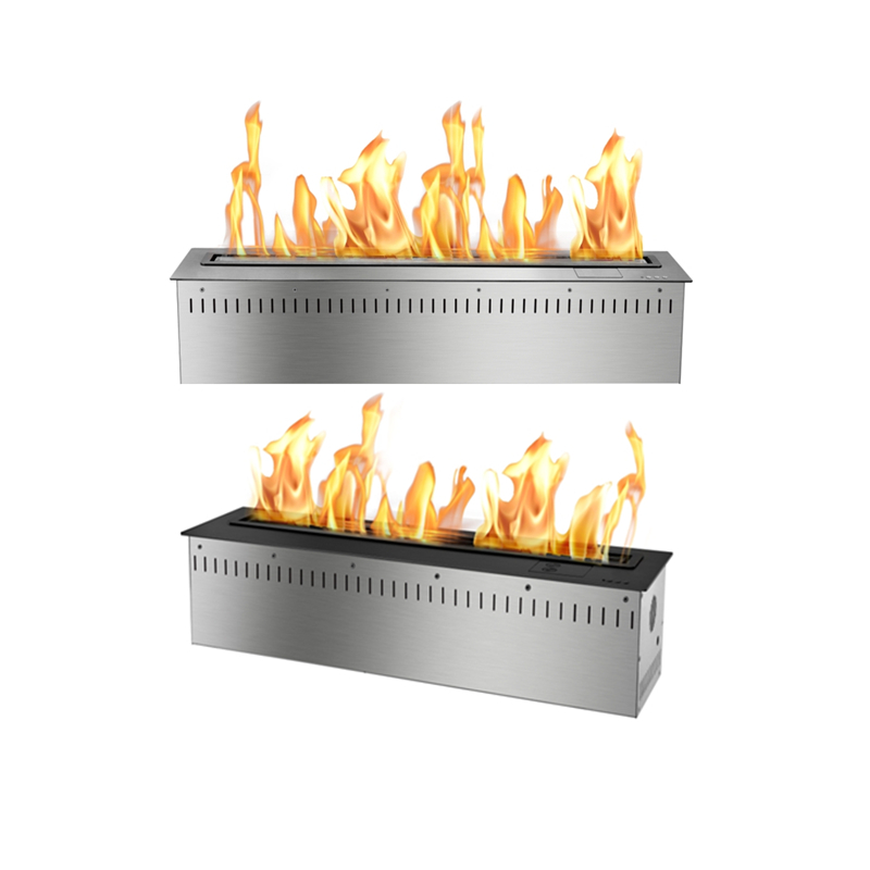 31 Inch Freestanding Modern Fireplace