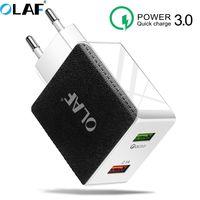 Olaf 빠른 충전 4.0 3.0 usb 충전기 redmi 참고 7 프로 48 w 5a supercharge 빠른 usb 전화 충전기 화웨이 p30 아이폰 x xr