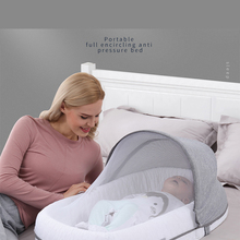 Cribs Bed Travel-Beds Sleeping-Nest Multi-Function Baby-Nest Newborns for Portable