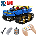 City Off-road RC Racing Car Electric Building Blocks Creator High-Tech APP Remote Control Tank military Bricks Toys For Children