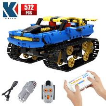 City Off-road RC Racing Car Electric Building Blocks Creator Technical APP Remote Control Tank military Bricks Toys For Children