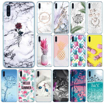 Soft Silicone Case For Samsung Galaxy A50 A30s A50s Cover For SamsungGalaxy A 50 A 30s A 50s 6.4 Phone Cases TPU Coque Shell image