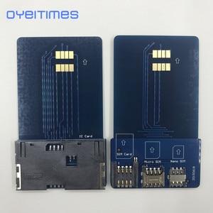 OYEITIMES сим-карта Pinboard адаптер конвертер сим-карта смарт-IC карта расширение для мини микро нано 2FF/3FF/4FF sim-карта