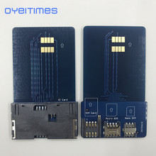 OYEITIMES SIM Card Pinboard Adapter Converter SIM Card Smart IC Card Extension for Mini Micro Nano 2FF/3FF/4FF SIM Card