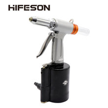 HIFESON pneumatique Air hydraulique Rivet pistolet riveteuse industrielle clou rivetage outil adapté aux clous en Aluminium/fer(China)