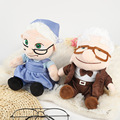 20 см фильма на Carl дедушка и бабушка мультфильм мягкие плюшевые игрушки для детей, подарки