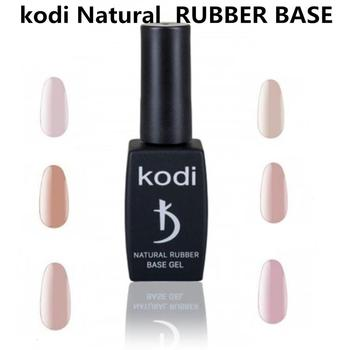 KODI GEL 12ml NATURAL RUBBER BASE GEL Primer Gel professional Pure Color UV LED Gel Nail Polish Long lasting