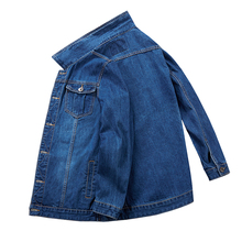 Plus size  8XL 7XL 6XL Mens jackets and coats Military style jeans jacket men coat Army Multi-pocket Denim
