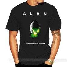 T-Shirt alien ALAN dans l'espace, personne ne peut vous entendre dans l'espace