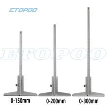 0-150 мм 0-200 мм 0-300 мм штангенциркуль глубины 0,02 мм стальной метрический манометр микрометр 6 дюймов 8 дюймов 12 дюймов измерительные инструменты глубины