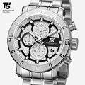 T5 Top Marke Luxus Rose Gold Quarz Chronograph Männer Herren Relogio Masculino Wasserdichte Sport Armbanduhren Uhr Uhren Mann