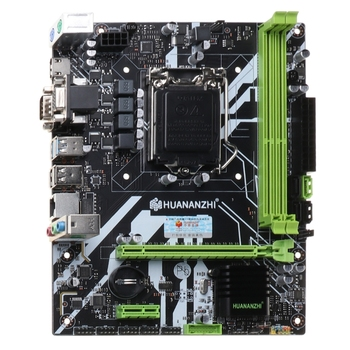 Huananzhi B75 Desktop Motherboard LGA1155 for i3 i5 i7 CPU Support ddr3 Memory new h55 motherboard 1156 hm55 p55 ddr3 set was supports i3 530 i5 760 i7 870