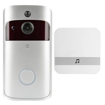 WiFi Video Doorbell V5 Smart IP Video Intercom WI-FI Video Door Phone For Apartments IR Alarm Wireless Security Camera 8
