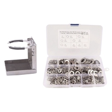 Rv-Set Drink-Holder Stainless-Steel with 684PCS Flat Washers Boat Folding-Cup Truck Marine