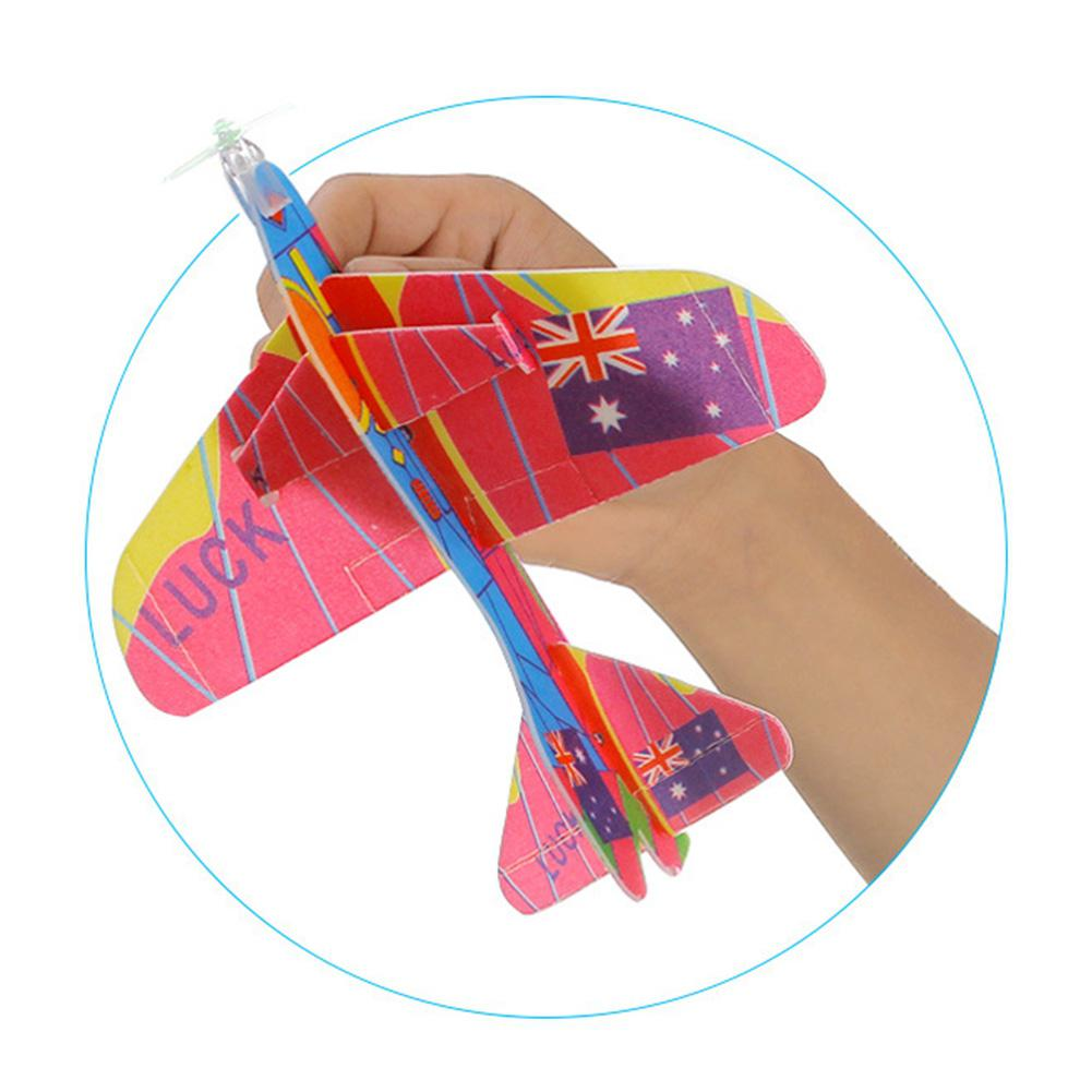 360 Degrees Fly Back Gliders Styrofoam Planes Model Assembled Developmental Toy- Random Deliverzk 15