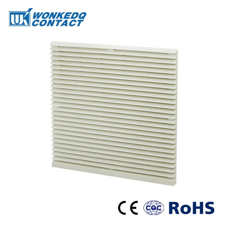 Cabinet  Ventilation Filter Set Shutters Cover  Fan Grille Louvers Blower Exhaust Fan Filter FK-3326-230 Filter With Fan