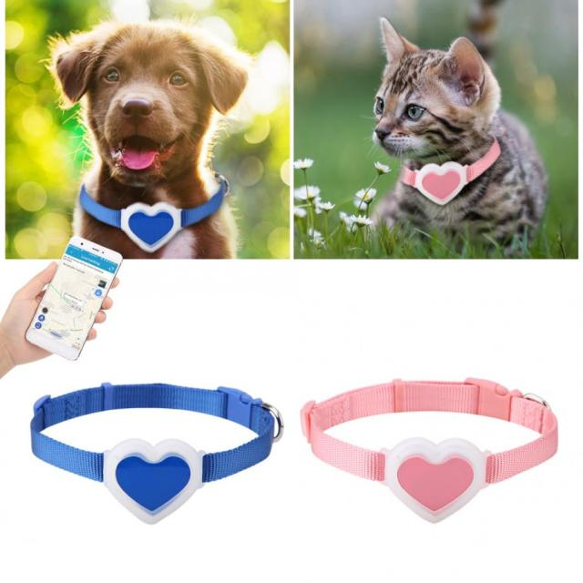 GPS Trackers Pets Smart GPS Mini Pet Waterproof GPS Dog Real-time Tracking Collar Security Finder Locator Pet