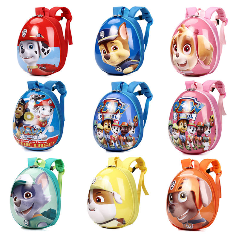 Paw Patrol Children Cartoon Eggshell School Bag Kindergarten Baby Safety EVA Cute Backpack For Boy Girl Child Birthday Xmas Gift