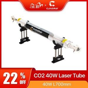Image 1 - Cloudray Co2ガラスレーザーチューブ700ミリメートル40ワットガラスレーザー用CO2レーザー彫刻切断機