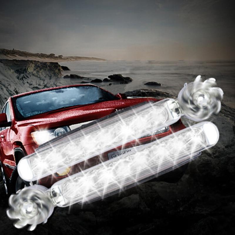 Wind Energy No Need External Power Supply Car Daytime Running Lights For Renault Kaptur Koleos Megane Latitude Kadjar Kwid Clio