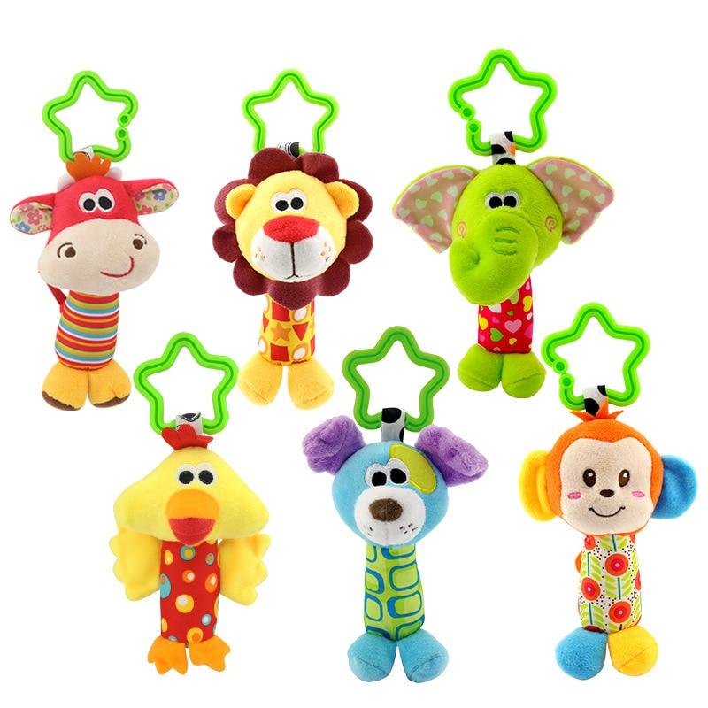 Baby rattles mobiles toddler խաղալիքներ մահճակալ - Խաղալիքներ նորածինների համար - Լուսանկար 6