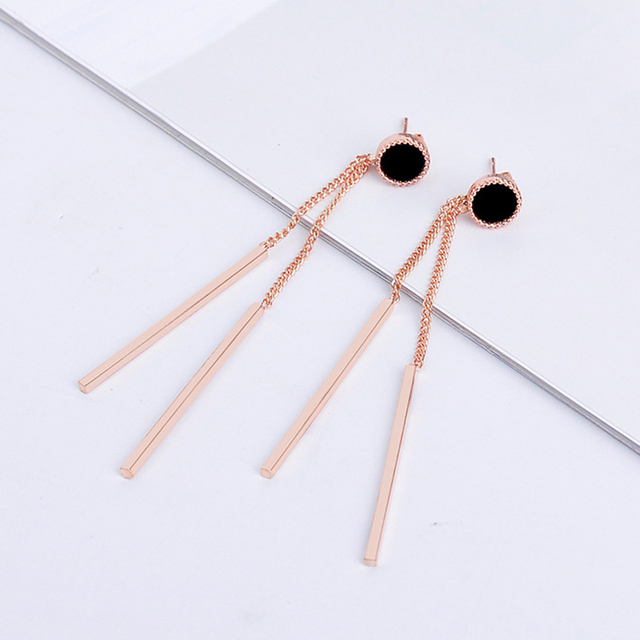 CARTER LISA Trend Dainty Female Long Gold Bar Drop Dangle Earings For Women Girl Fashion Stick.jpg 640x640 - CARTER LISA Trend Dainty Female Long Gold Bar Drop Dangle Earings For Women Girl Fashion Stick Jewelry Party Christmas Gifts