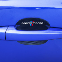 4pcs car protection of carbon fiber leather car door For BMW E46 E90 E91 E92 E93 F30 F20 E52 E53 E60 F10 F15 F13 M3 M5 M6 X1 X3