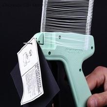 Étiquettes de prix pour vêtements, barbes + 5 aiguilles, pistolet de marquage pour vêtements, bricolage, outils artisanaux de couture, 1000