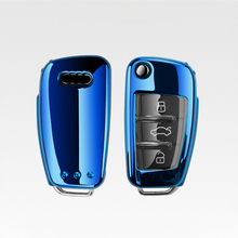 TPU Car Key Case Full Cover For Audi A3 8P 8V A4 B7 B8 B5 B9 A1 A5 Q7 Q5 Q6 4f C6 C5 C7 C4 TT Q3 S3 A7 A8 C4 TT 8N Shell Covers